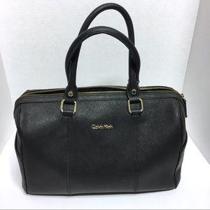 Calvin Klein Black Handbag Satchel